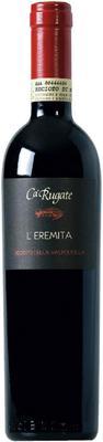 Вино красное сладкое «Ca'Rugate L'eremita Recioto Della Valpolicella» 2009 г.