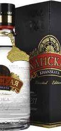 Водка «Khanskaya Limited Edition» в подарочной упаковке