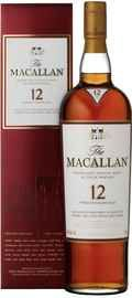Виски шотландсикй «Macallan 12 Years Old» в подарочной упаковке