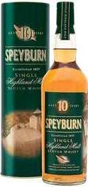 Виски шотландский «Speyburn 10 Years» в тубе
