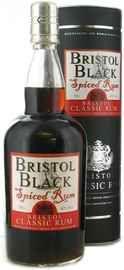 Ром «Bristol Classic Rum Bristol Black Spiced Rum» в тубе