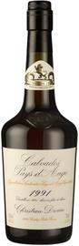 Кальвадос «Coeur de Lion Calvados Pays d`Auge 1991»