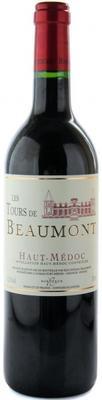 Вино красное сухое «Les Tours de Beaumont» 2006 г.