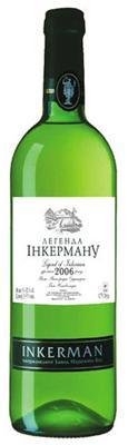 Вино белое полусладкое «Инкерман Легенда»