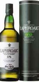 Виски «Laphroaig 18 Years Old» в подарочной упаковке