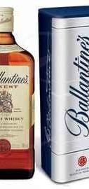 Виски шотландский «Ballantine's Finest» в металлической коробке