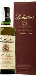 Виски шотландский «Ballantine's 17 Years Old» в подарочной упаковке