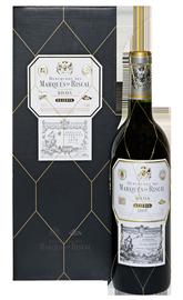 Вино красное сухое «Marques de Riscal Reserva» 2009 г., в подарочной упаковке