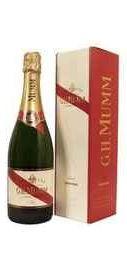 Шампанское белое полусладкое «Mumm Demi-sec» в подарочной упаковке