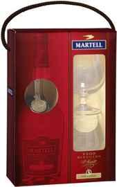 Коньяк «Martell VSOP» в подарочной упаковке с двумя бокалами