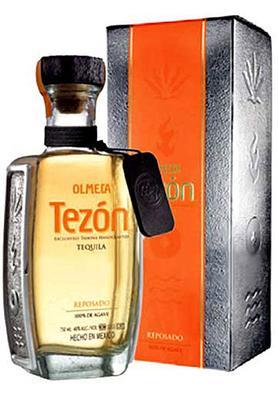 Текила «Olmeca Tezon Reposado» в подарочной упаковке