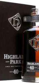 Виски шотландский «Highland Park 40 Year Old»