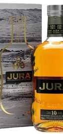 Виски шотландский «Isle Of Jura 10 Years Old» в подарочной упаковке