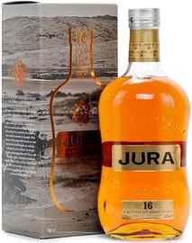 Виски шотландский «Isle Of Jura 16 years old» в подарочной упаковке