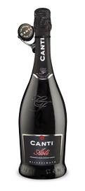 Вино игристое белое сладкое «Canti Asti + Stopper» 2013 г.