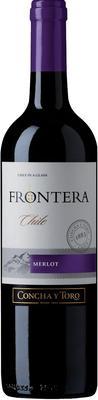 Вино красное полусухое «Frontera Merlot»
