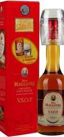Кальвадос «Pere Magloire Calvados VSOP» в подарочной упаковке с бокалом