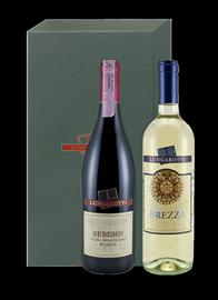 Набор «Lungarotti Rubesco Riserva Vigna Monticchio» 2004 г., в подарочной упаковке
