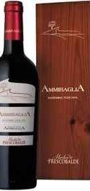 Вино красное сухое «Marchesi de Frescobaldi Ammiraglia» 2011 г., в деревянной коробке
