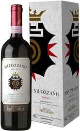 Вино красное сухое «Marchesi de Frescobaldi Nipozzano Riserva» 2009 г., в подарочной упаковке