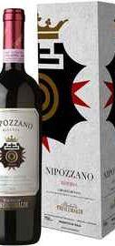 Вино красное сухое «Marchesi de Frescobaldi Nipozzano Riserva» 2008 г., в подарочной упаковке