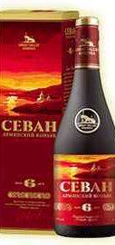 Коньяк армянский «Great Valley Sevan 6 Years» в подарочной упаковке