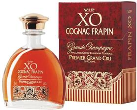 Коньяк французский «Frapin V.I.P. XO Grande Champagne, 0.05 л» в подарочной упаковке