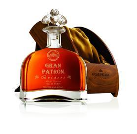 Текила «Gran Patron Burdeos crystal decanter» в подарочной упаковке