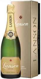 Шампанское белое сухое «Lanson Gold Label Vintage» 2002 г, в подарочной упаковке