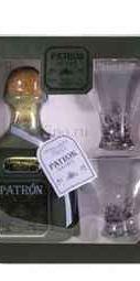 Ликер «Patron Spirits Cafe Liquor XO» в подарочной упаковке, с двумя рюмками