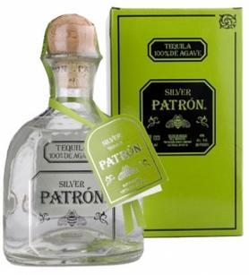 Текила «Patron Spirits Patron Silver» в подарочной упаковке