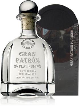 Текила «Grand Patron Platinum Patron Spirits» в подарочной упаковке