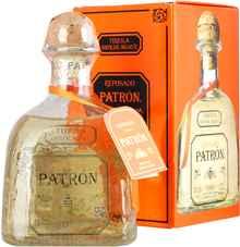 Текила «Patron Spirits Reposado» в подарочной упаковке