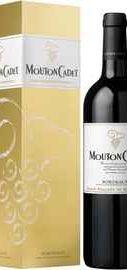 Вино красное сухое «Baron Philippe de Rothschild Mouton Cadet Rouge» 2012 г., в подарочной упаковке