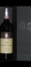 Вино красное сухое «Castello di Ama Chianti Classico» 2008 г., в деревянной коробке