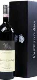 Вино красное сухое «Castello di Ama Chianti Classico» в деревянной коробке