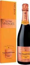Шампанское розовое сухое «Veuve Clicquot Rose» в подарочной упаковке