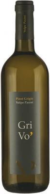 Вино белое сухое «Volpe Pasini Grivo Pinot Grigio» 2010 г.