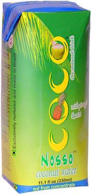 Кокосовая вода «Paraipaba Agroindastrial Coconut Water Nosso Coco with pineapple & mint»
