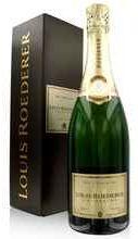 Шампанское белое брют «Louis Roederer Brut Premier» в подарочной упаковке