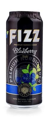 Сидр яблочный «Fizz Blueberry Premium Nordic Cider»