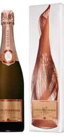 Шампанское розовое брют «Louis Roederer Brut Rose» 2008 г., в графической упаковке