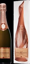 Шампанское розовое брют «Louis Roederer Brut Rose Vintage» 2007 г., в графической упаковке