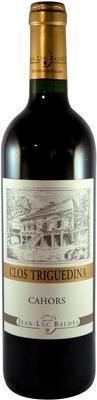 Вино красное сухое «Clos Triguedina Cahors» 1991 г.