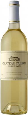 Вино белое сухое «Chateau Talbot Caillou Blanc» 2010 г.
