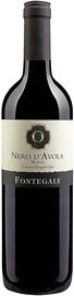 Вино красное сухое «Fontegaia Nero D'Avola» 2013 г.
