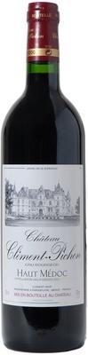 Вино красное сухое «Chateau Clement Pichon Haut Medoc» 2007 г.