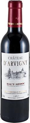 Вино красное сухое «Chateau d'Arvigny Haut-Medoc AOC» 2010 г.