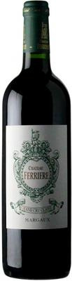 Вино красное сухое «Chateau Ferriere Margaux AOC 3-me Grand Cru» 2010 г.