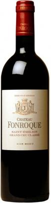 Вино красное сухое «Chateau Fonroque Saint-Emilion AOC Grand Cru» 2008 г.